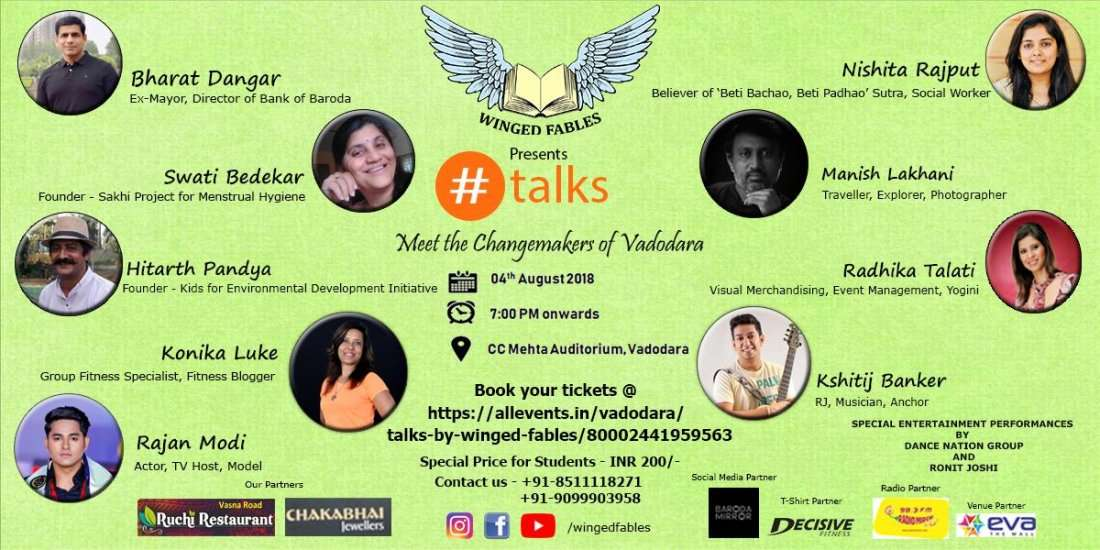 talks by WINGED FABLES