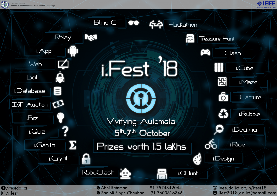 i.Fest 18 DA-IICT