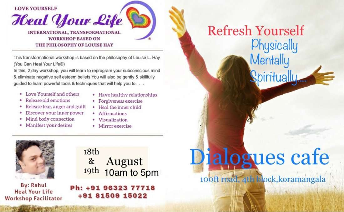 Louise hay 2day transformational Heal your life workshop