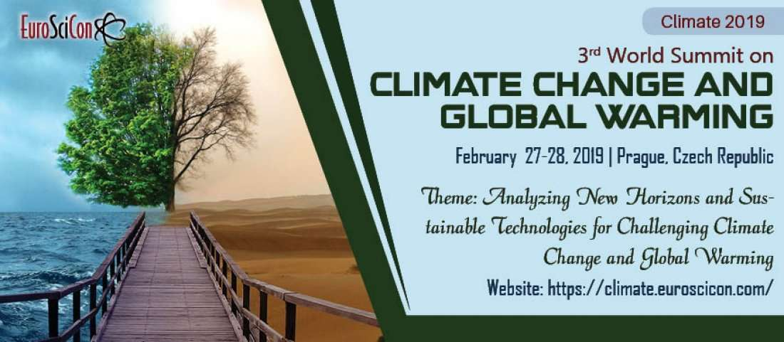 3rd World Summit on Climate Change and Global Warming