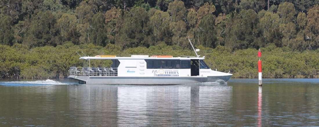History Ferry Tour HawkesburyBroken Bay