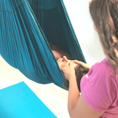 Treats and Treatments Aerial Yoga Workshops