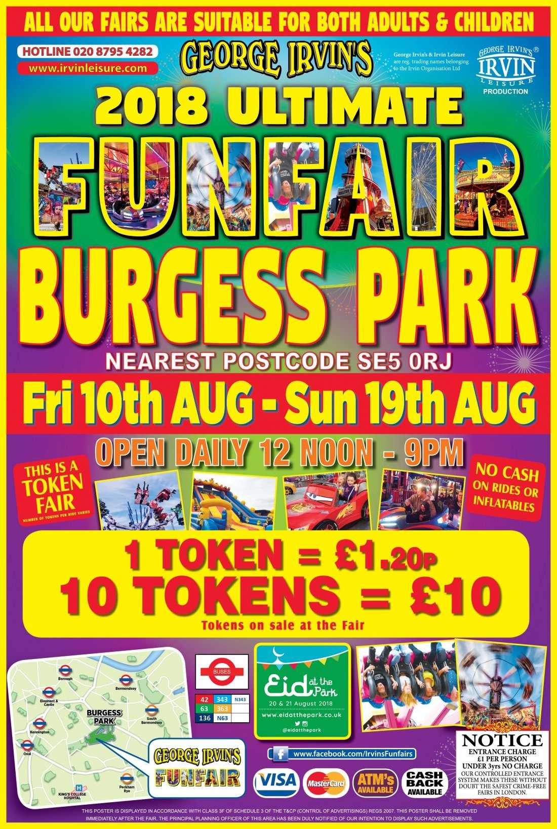 Burgess Park Ultimate Funfair