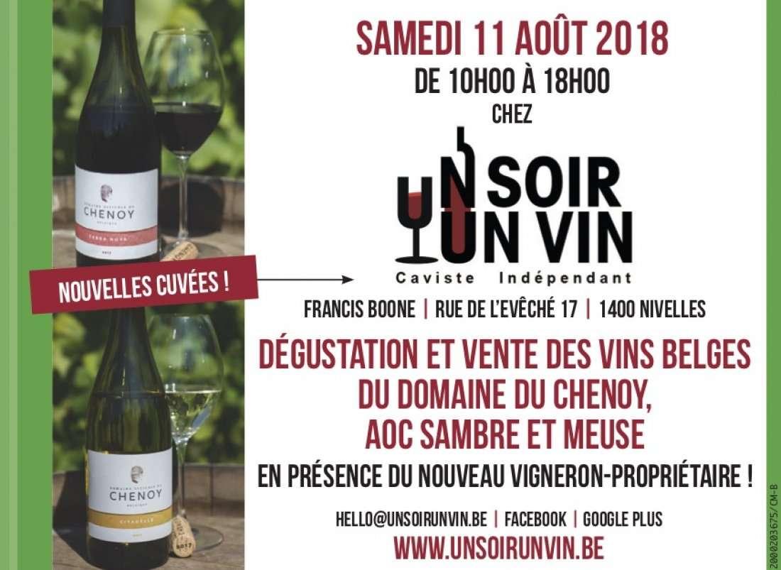 Samedi 11 Aot 2018  Le Chenoy chez Un Soir Un Vin