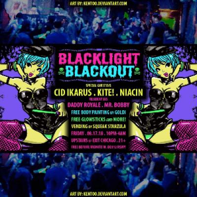 Blacklight Blackout ft. Cid Ikarus Kite &amp Niacin