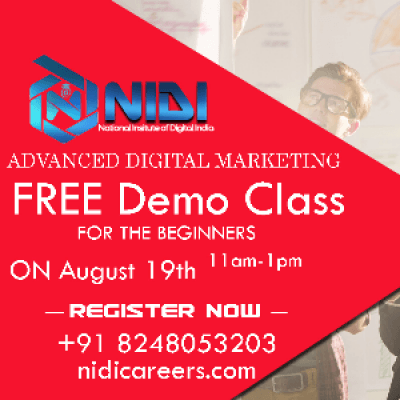Free digital marketing demo class