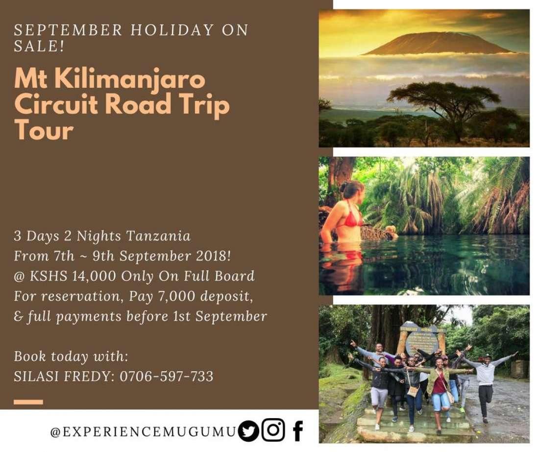 3 Days Mt Kilimanjaro Circuit Road Trip Tour 5th Edition