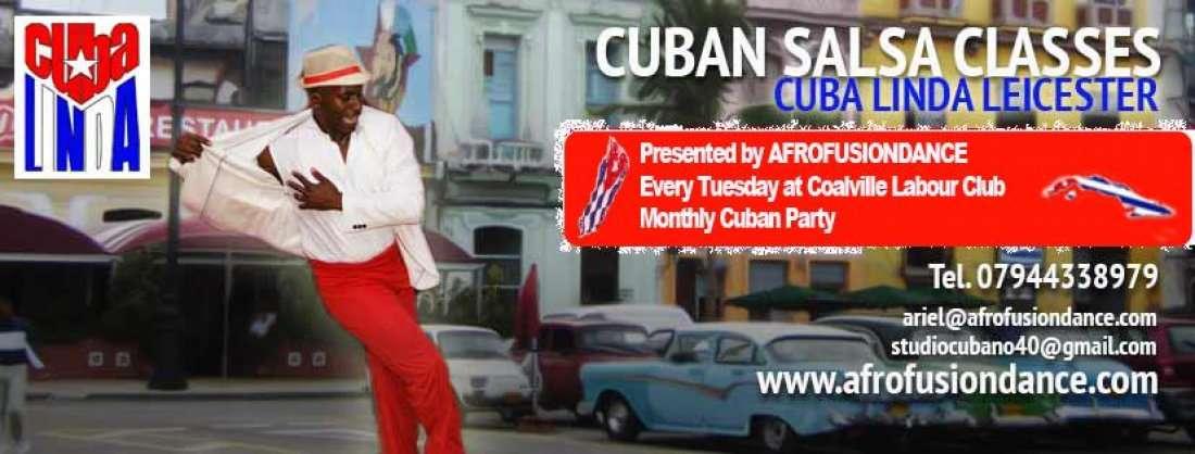 NEW FRESH 6 WEEK SALSA CLASS COURSE AT CUBA LINDA COLAVILLE