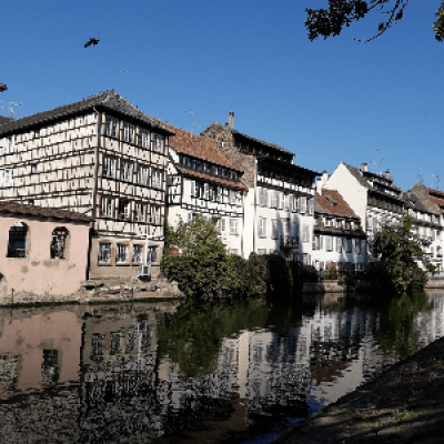 Old Town of Strasbourg in English