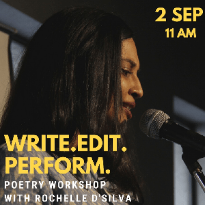 Write Edit Perform - Poetry Workshop
