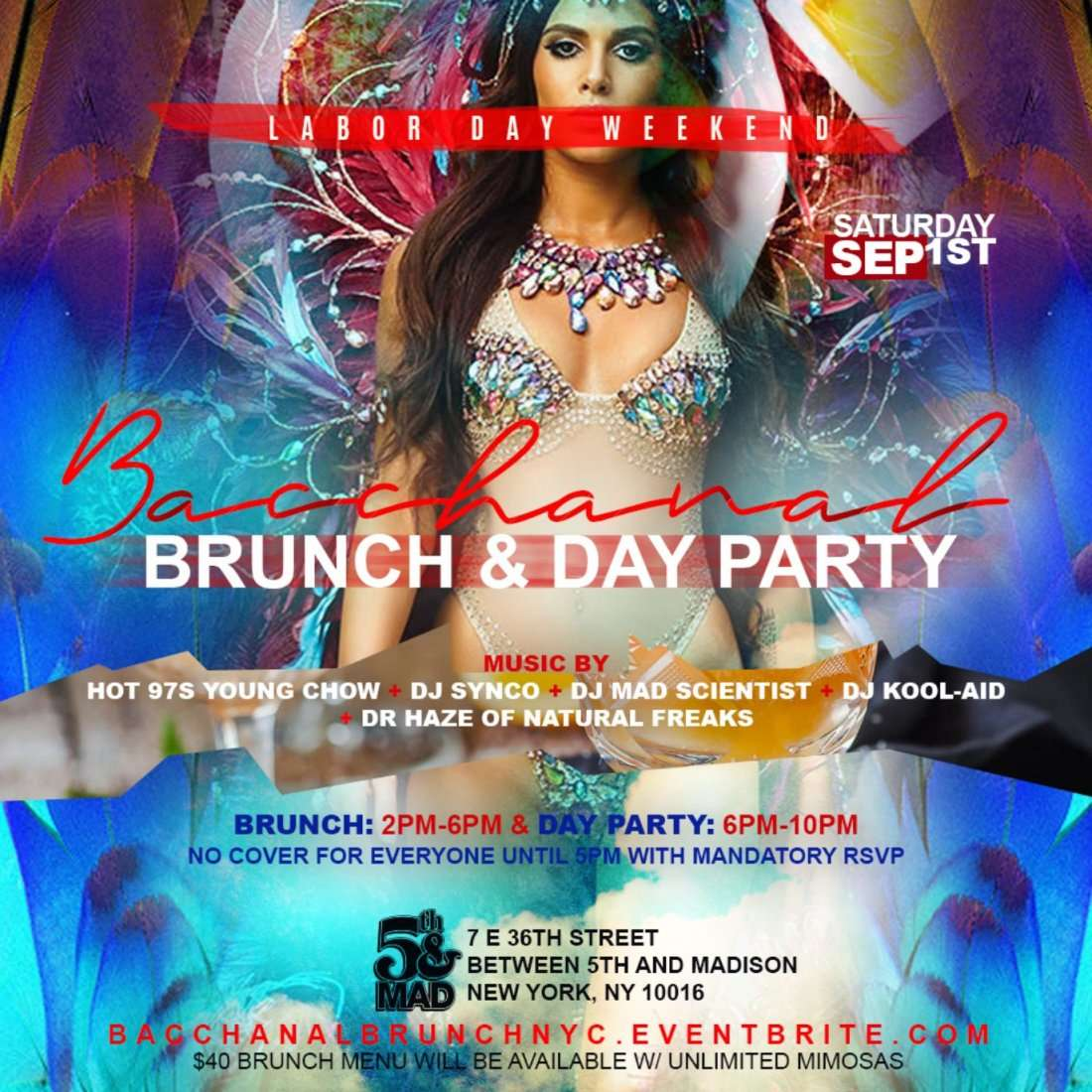 Bacchanal Brunch  Day Party