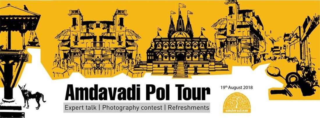 Amdvadi Pol Tour (World Photography Day)