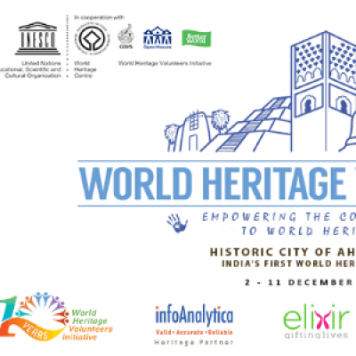 UNESCO WHV 2018  Lets Heritage at Historic City of Ahmedabad (INR Currency)
