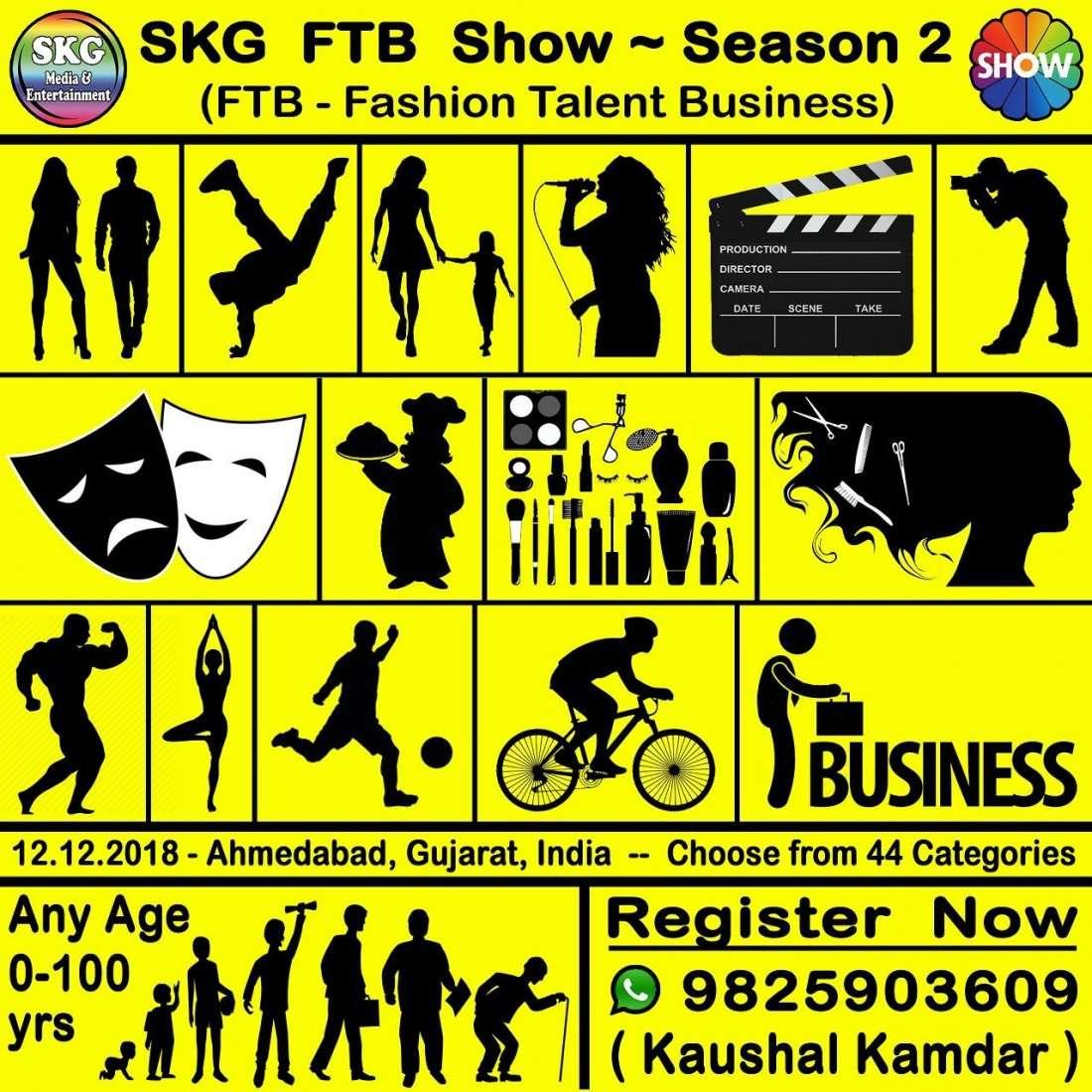 SKG FTB Show - Season 2 - FTB Fashion Talent & Business