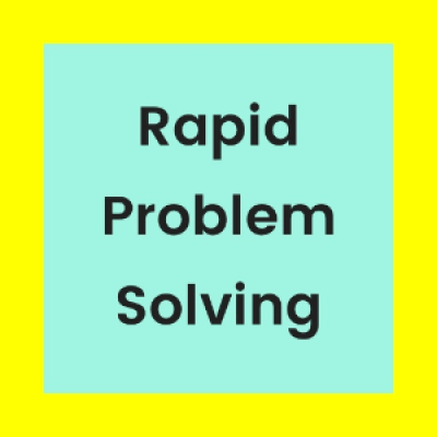 Rapid Problem Solving without Discussions  Workshop