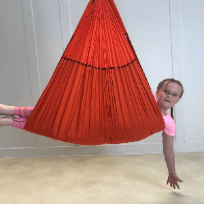 Aerial Yoga for Kids workshop in Galway