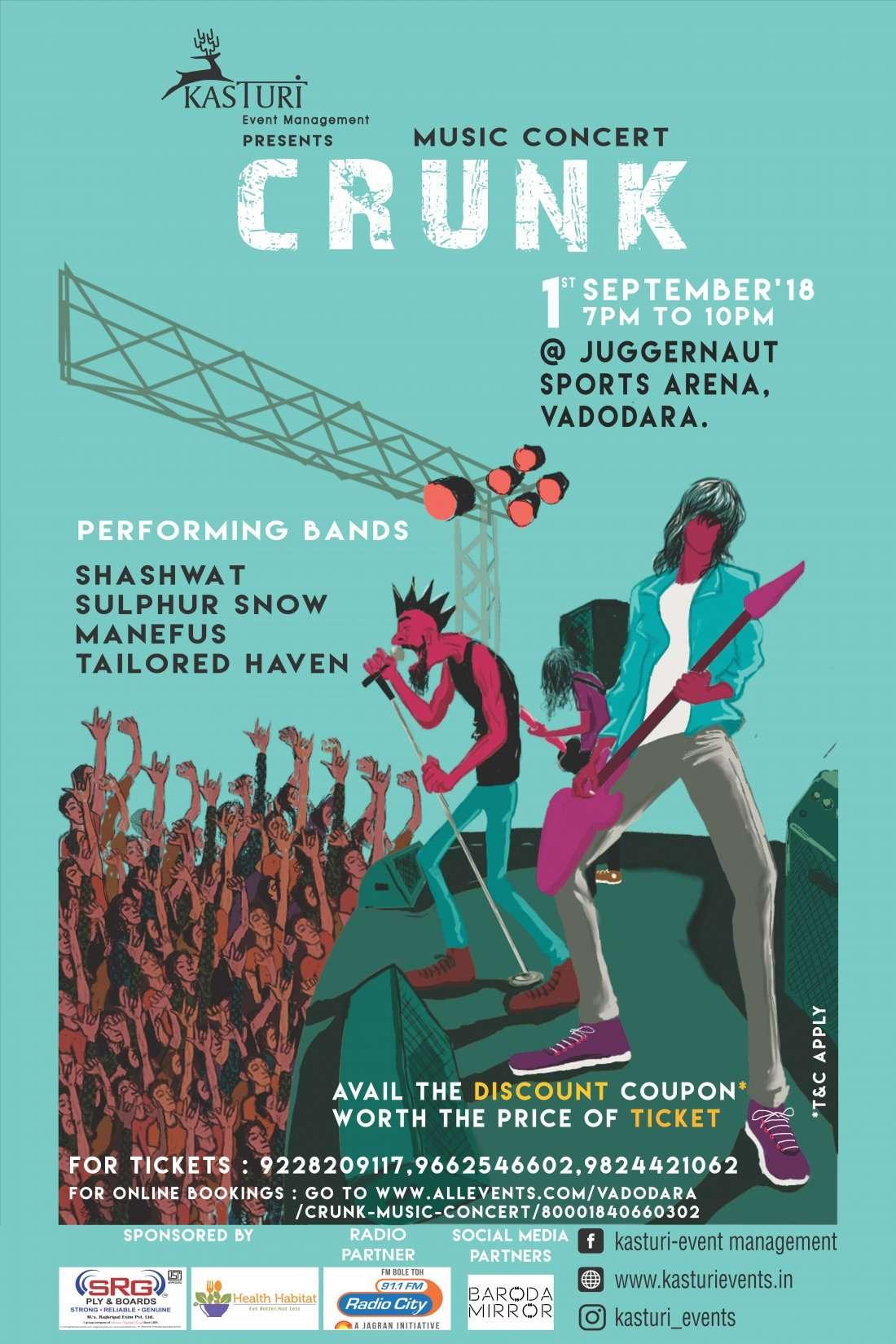 Crunk - Music Concert