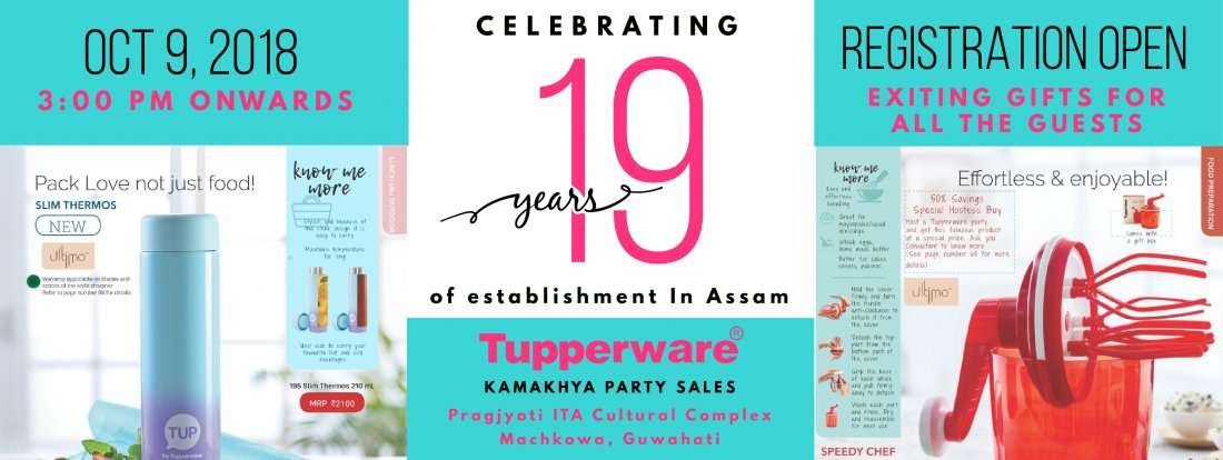 19th Anniversary of Tupperware in Assam