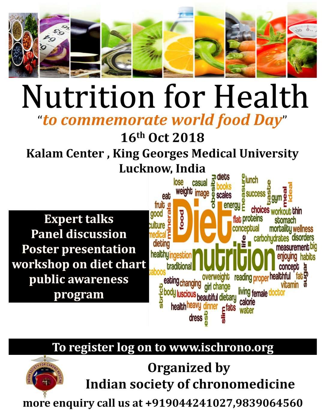 Health for Nutrition - to commemorate World food day 2018
