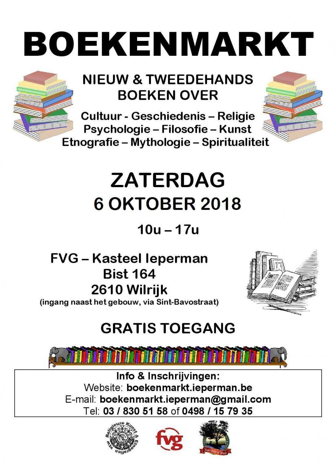 Boekenmarkt Ieperman