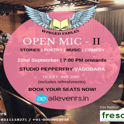 WINGED FABLES  OPEN MIC - II