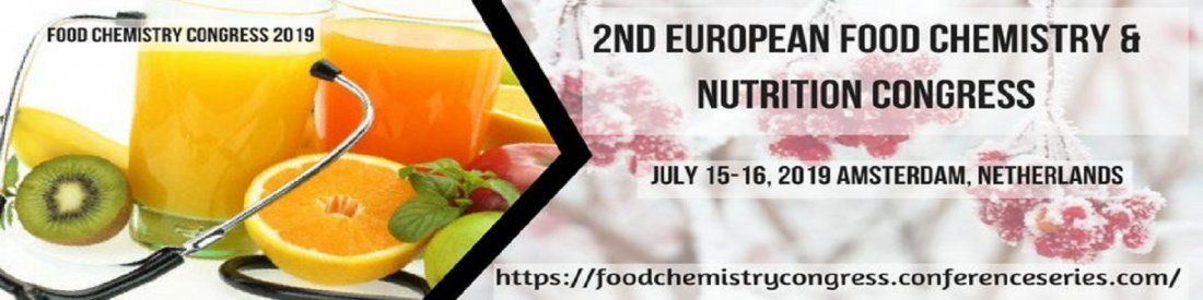 2 nd European Food Chemistry & Nutrition Congress