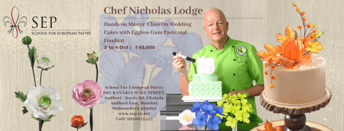 Hands On Master Class on Wedding Cakes at SEP