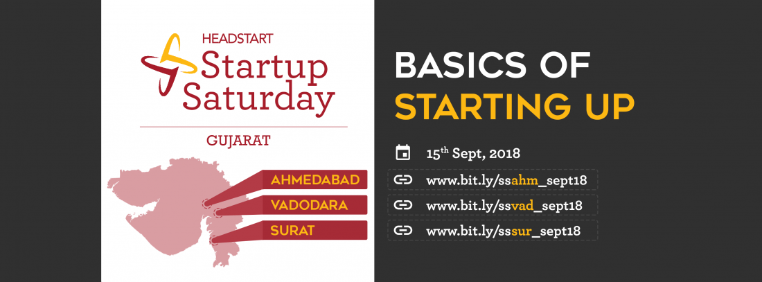 Headstart Vadodara Launch Basics of Starting Up