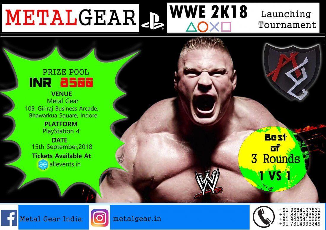 WWE 2k18 Launch Tournament