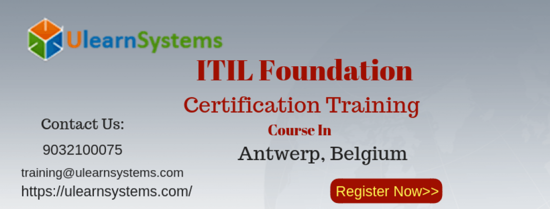 Itil Foundation Certification Training Course Antwerp Belgium