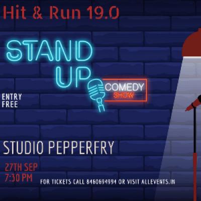 Hit &amp Run 19.0 - A Standup Comedy Open Mic