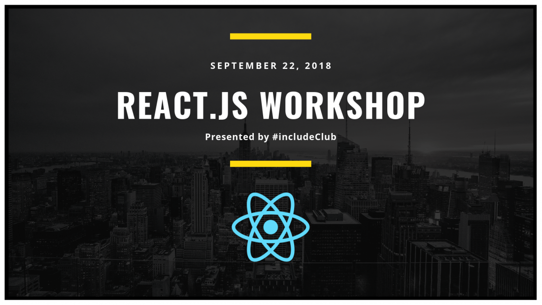 ReactJS Workshop- Learn to create interactive UIs from scratch