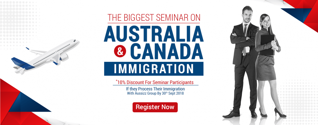 The Biggest Seminar on Australia  Canada Immigration