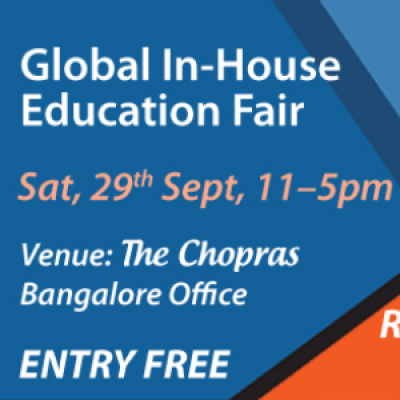 Global In-House Education Fair 2018 in Bangalore - Free Registration