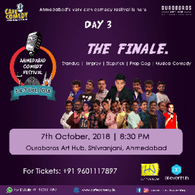 The Finale - Day 3  Ahmedabad Comedy Festival
