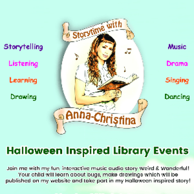 Storytime with Anna-Christina at Kentish Town Library
