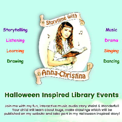 Storytime with Anna-Christina at Swiss Cottage Library