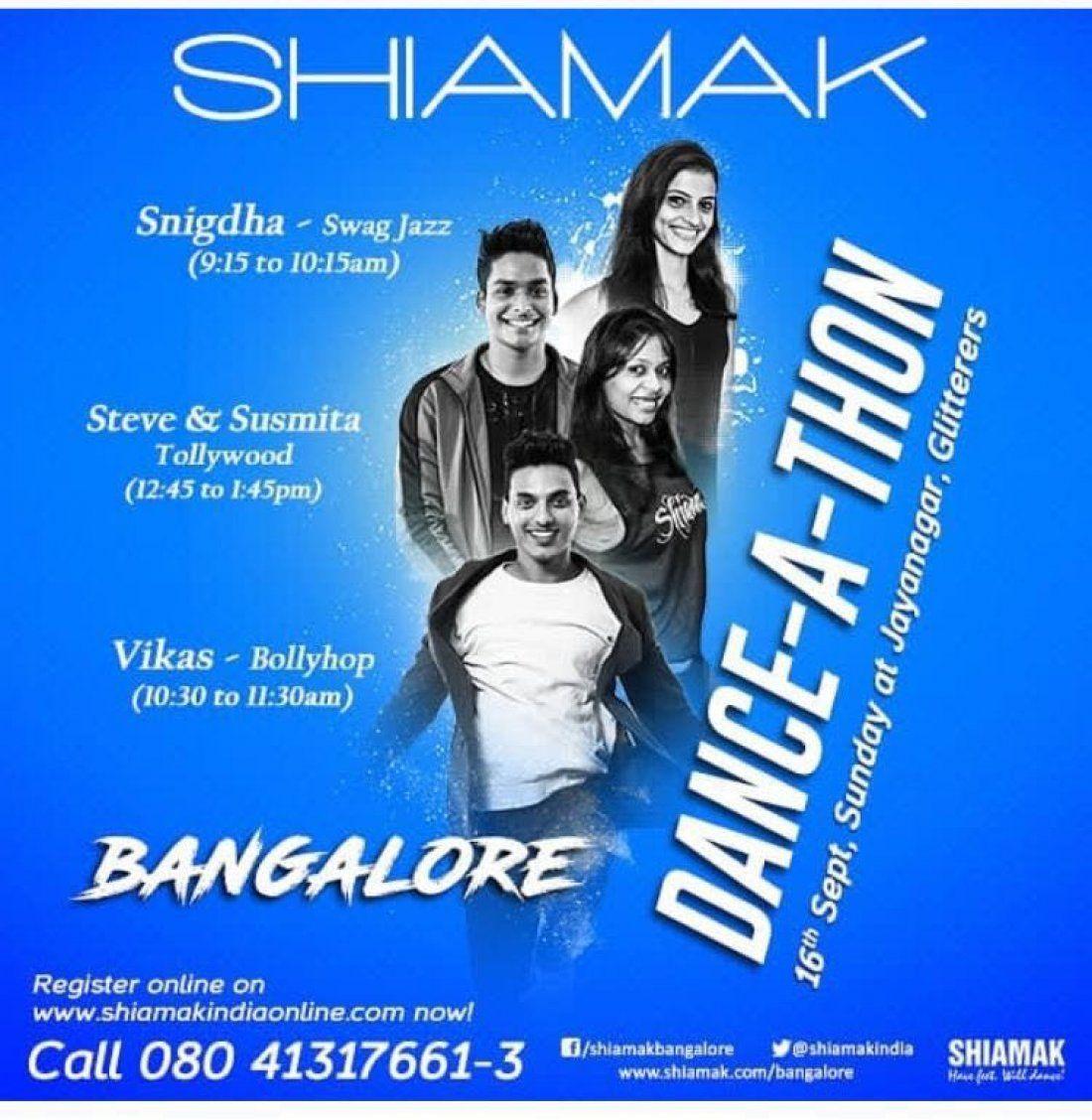 Shiamaks Dance-A-Thon Bangalore