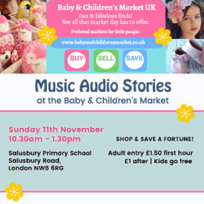 Music Audio Stories at the Baby &amp Childrens Market UK