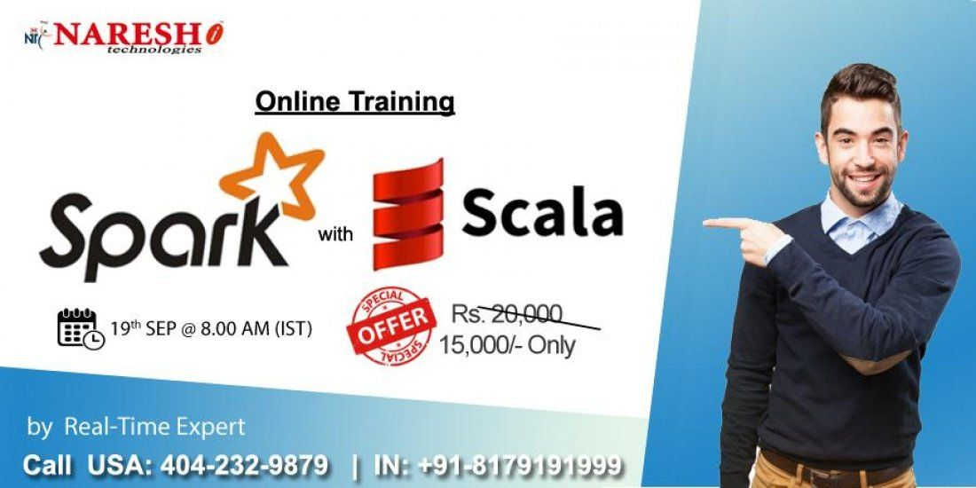 Spark with Scala Online Training in USA - NareshIT