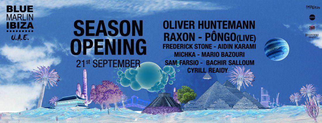 Season Opening Oliver Huntemann Raxon & Pngo (Live)
