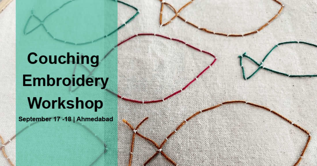 Couching Embroidery Workshop