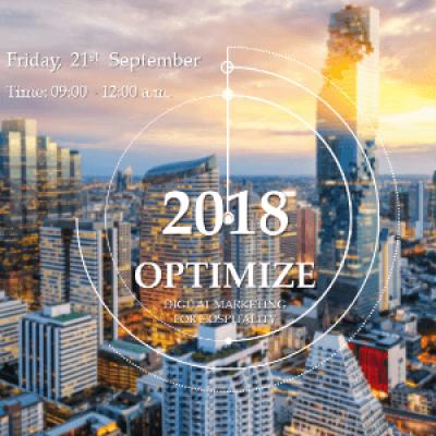 2018 Seminar Optimize Digital Marketing for Hospitality