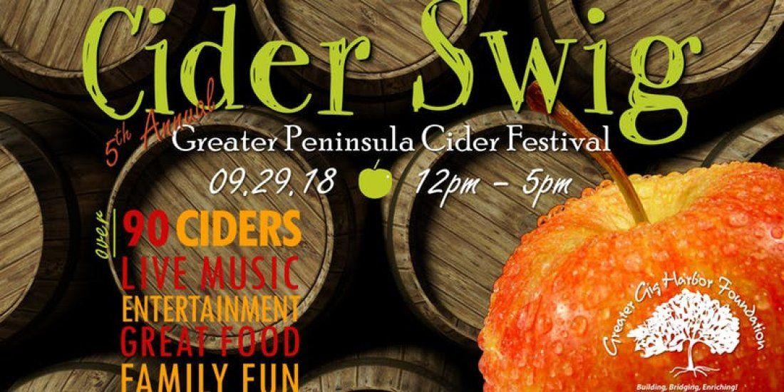 5th Annual CIDER SWIG - the Greater Peninsula Cider Festival
