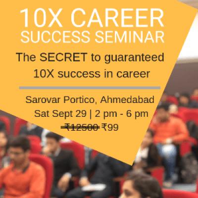 10X Career Success Seminar