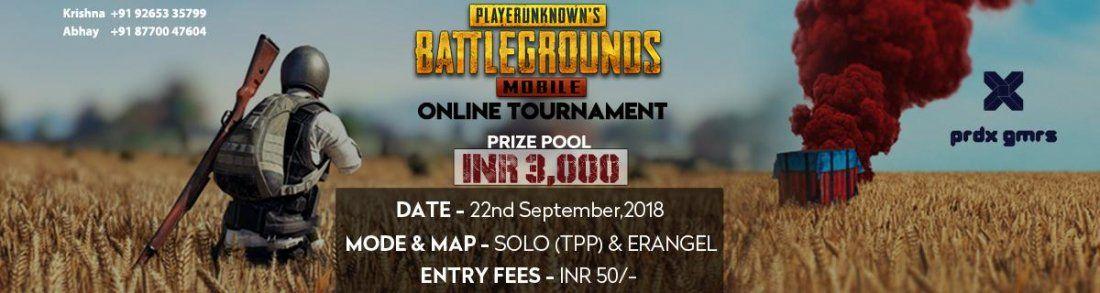 PUBG Mobile - Online Tournament