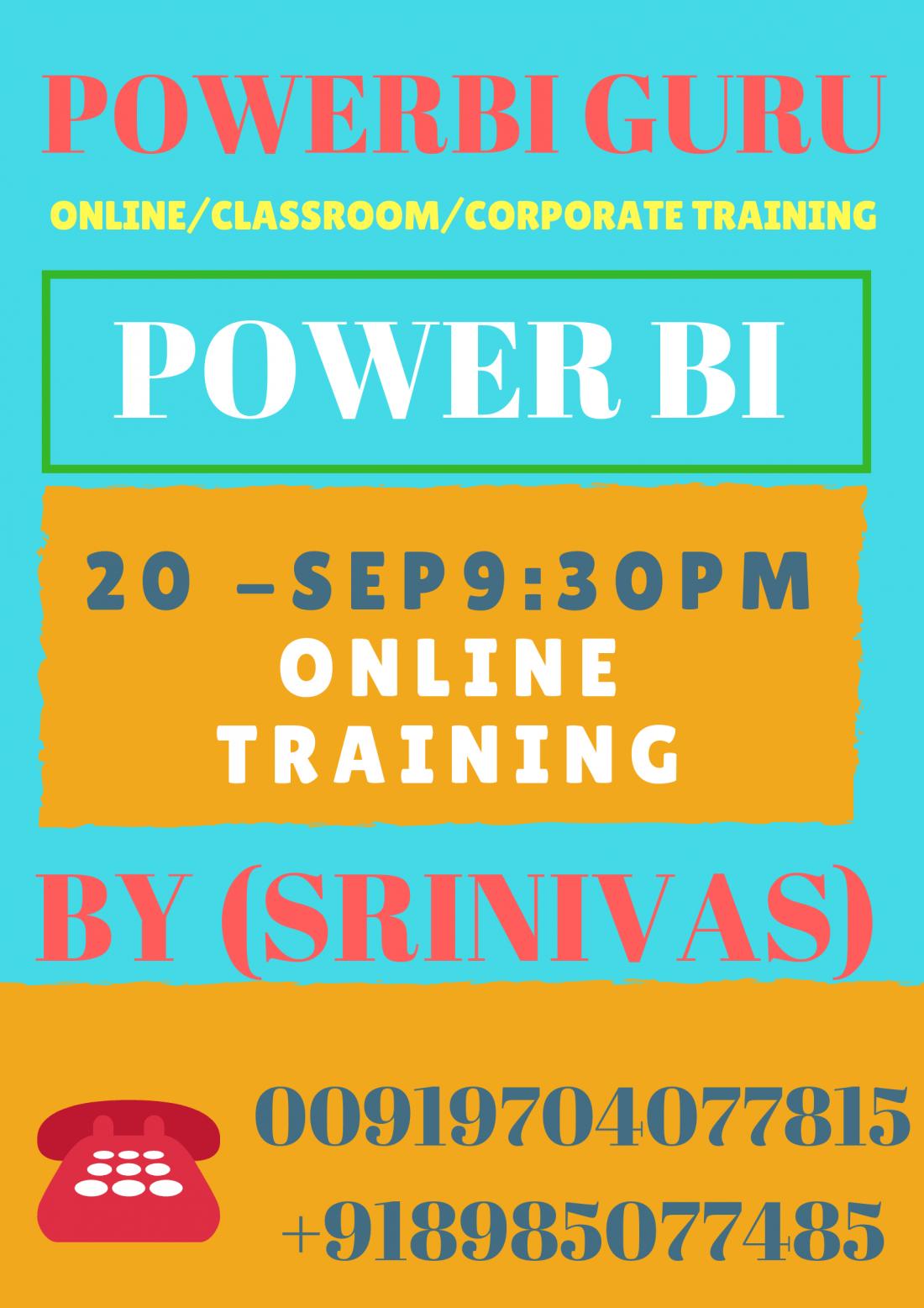 Powerbi Guru Online Classes At Hyderabad Hyderabad