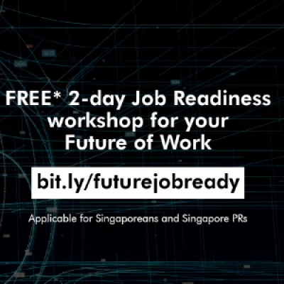 FREE 2-DAYS WORKSHOP TO INVEST ON YOUR CAREER READINESS FOR THE FUTURE