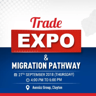 Trade Expo and Migration Pathway at Aussizz Group Clayton