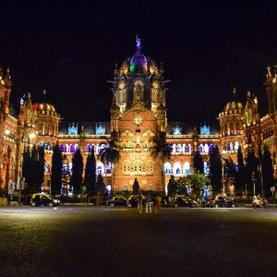 Mumbai Midnight Sea-Side Cycling